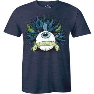 All Seeing Eye Flying Eyeball Cool T-shirt Tees